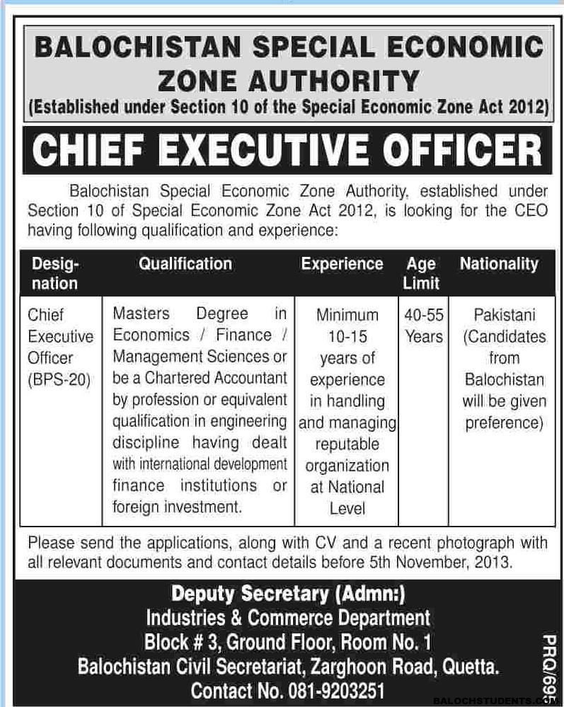 Balochistan Special Economic Zone Authority